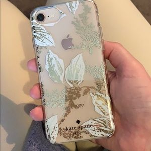 Kate Spade phone case for iPhone 8